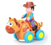 Фото Huile Toys Ковбой на диком быке (838B)