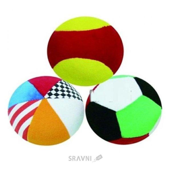 Фото Biba Toys Мягкие спортивные мячики (087BR)