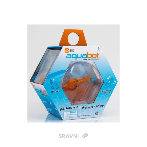 Фото HEXBUG Aquabot with Bowl Аквариум с рыбкой (460-3673)
