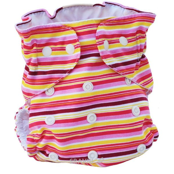 Фото KATINKA Мультиразмерные многоразовые подгузники (до 16 кг)