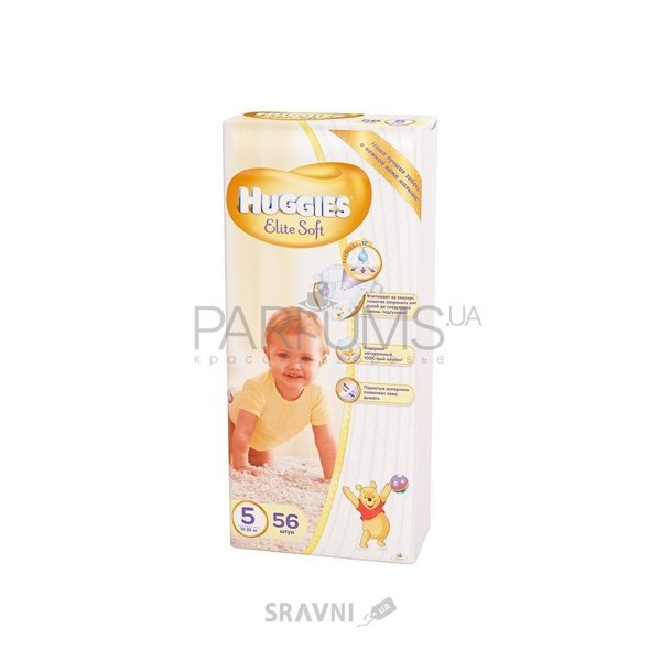 Фото Huggies Elite Soft 5 (56 шт.)