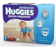 Фото Huggies Трусики для мальчиков 4 (34 шт.)