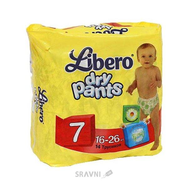 Фото Libero Dry Pants 7 16-26 кг (14 шт.)