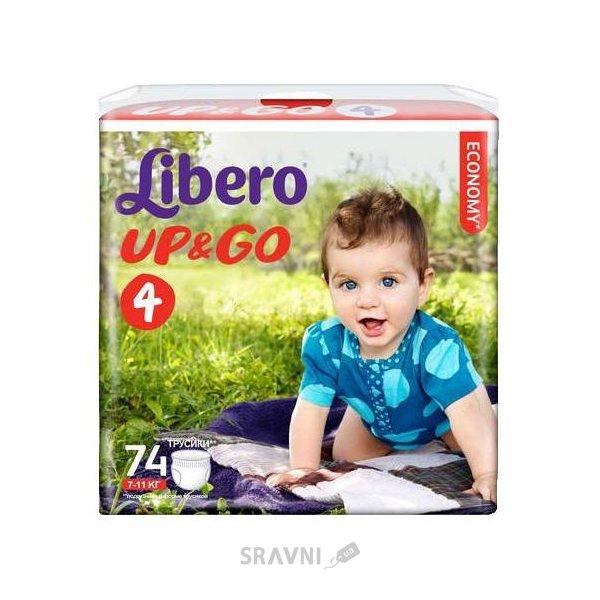 Фото Libero Up&Go 4 7-11 кг (74 шт.)