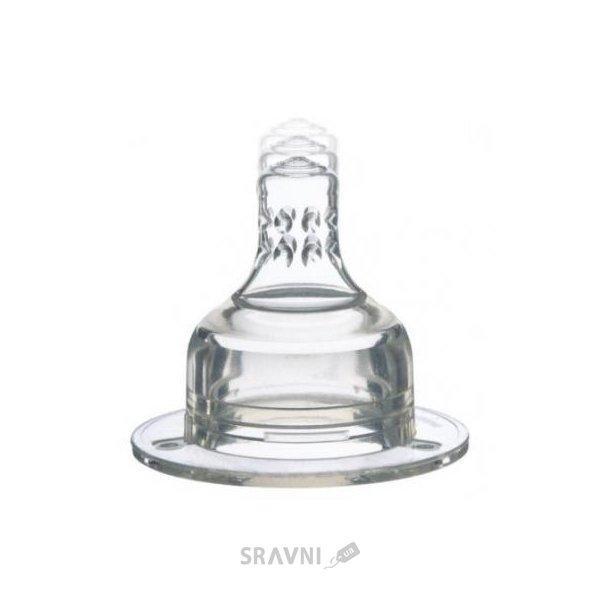 Фото LOVI Соска для бутылочки силиконовая динамическая трехпозиционная (18/714)