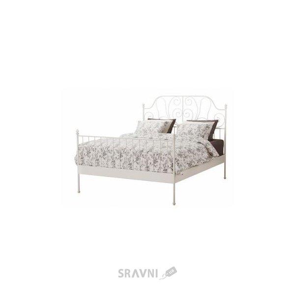 Фото IKEA LEIRVIK Каркас 140x200 и SULTAN LUROY основа под матрас (790.066.45)