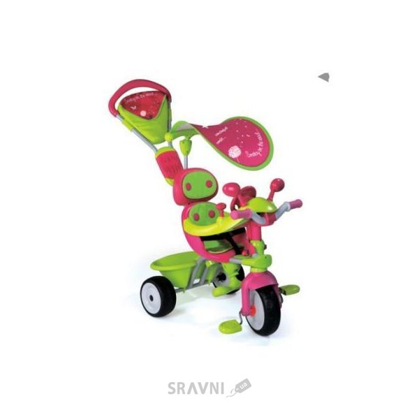 Фото SMOBY Baby Driver Confort Fille (434118)