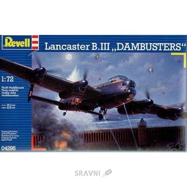 """Фото Revell Бомбардировщик Lancaster (Ланкастер) B.III """"Dambusters"""". (RV04295)"""