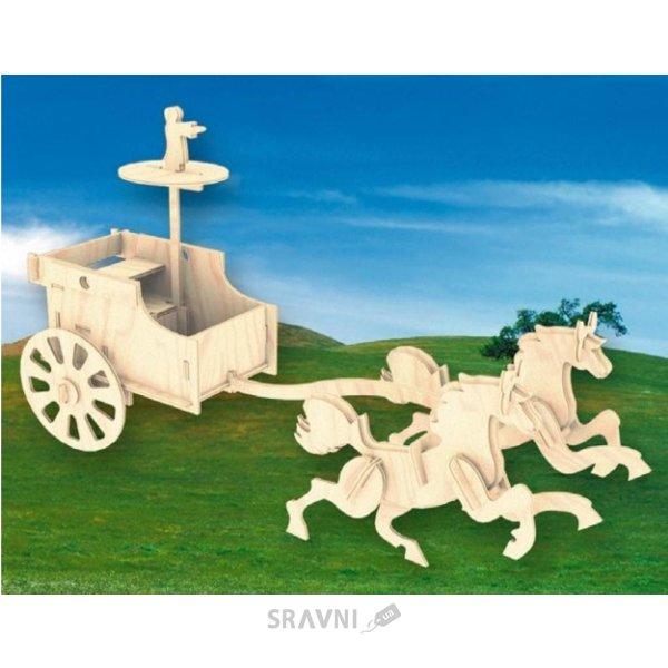 Фото Мир деревянных игрушек Боевая колесница (П094)
