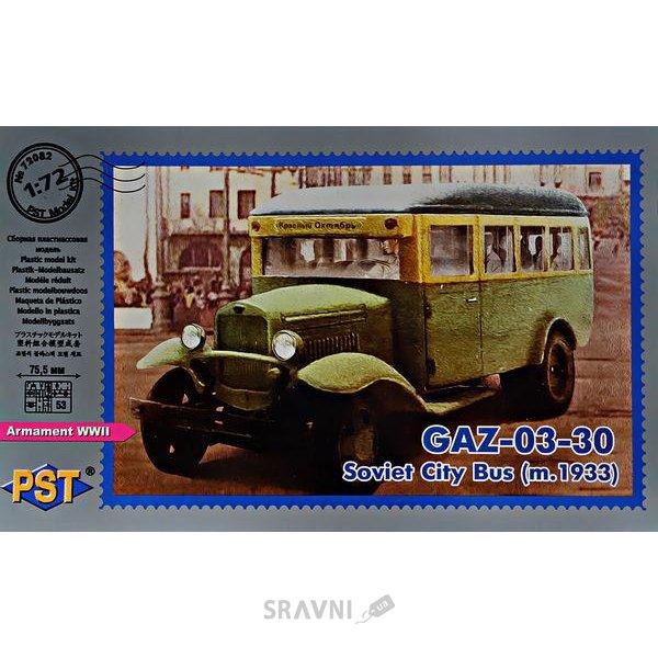 Фото PST Пассажирский автобус ГАЗ-03-30, 1933 г. (72082)