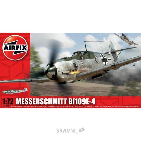 Фото Airfix Самолет Messerschmitt Bf.109 E4 Messerschmit Bf109E4 разноцветный (MAI-01008)