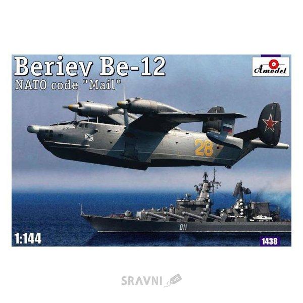 Фото Amodel Советский спасательный самолет-амфибия Beriev Be-12 'Mail' (AMO1438)