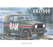Фото Military Wheels УАЗ-469 военной полиции СССР (MW3503)
