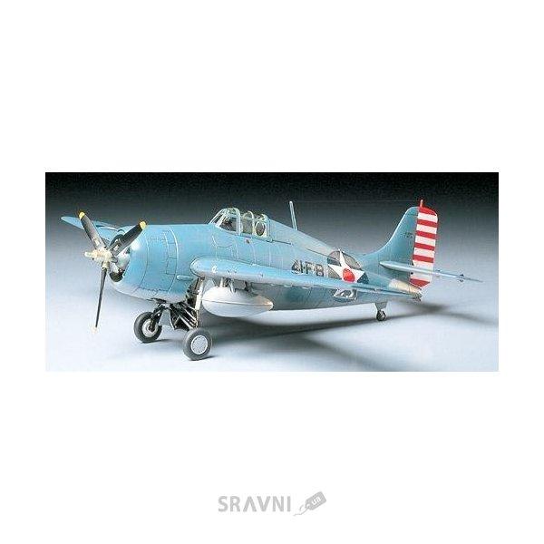 Фото TAMIYA Американский Grumman F4F-4 Wildcat (TAM61034)
