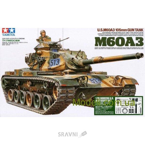 Фото TAMIYA Американский танк M60A3 (TAM35140)