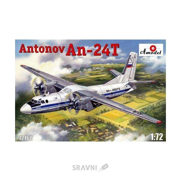 Фото Amodel Военно-транспортный самолет Антонов Ан-24T (AMO72160)