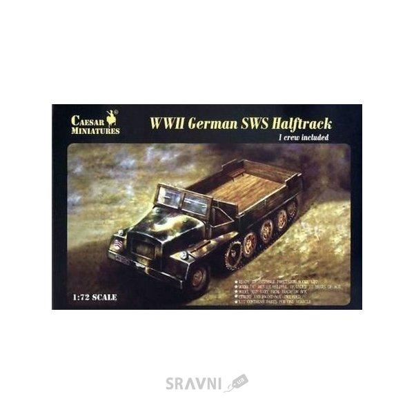 Фото Caesar Miniatures WWII German SWS Halftrack CMM7210
