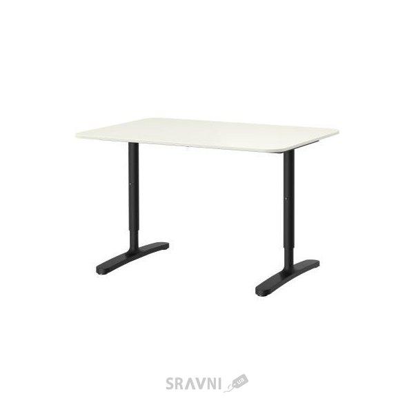 Фото IKEA BEKANT Стол 120x80h65-85 (590.063.21)