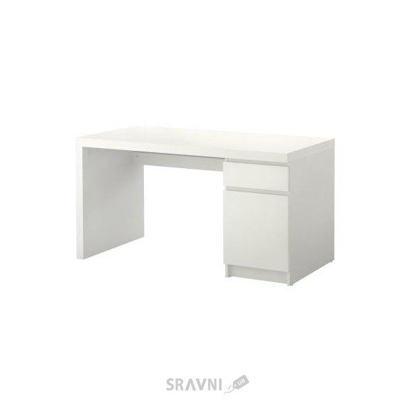 Фото IKEA MALM Письменный стол 140x65h73 (602.141.59)
