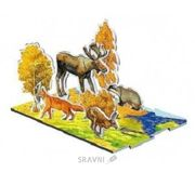 Фото Умная бумага Объемное лото Осень в лесу (094)