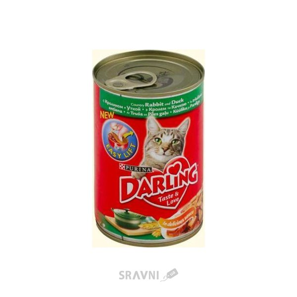 Фото Darling Консервы с кроликом и уткой 0,4 кг