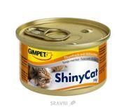 Фото Gimpet ShinyCat тунец с курицей 70 г