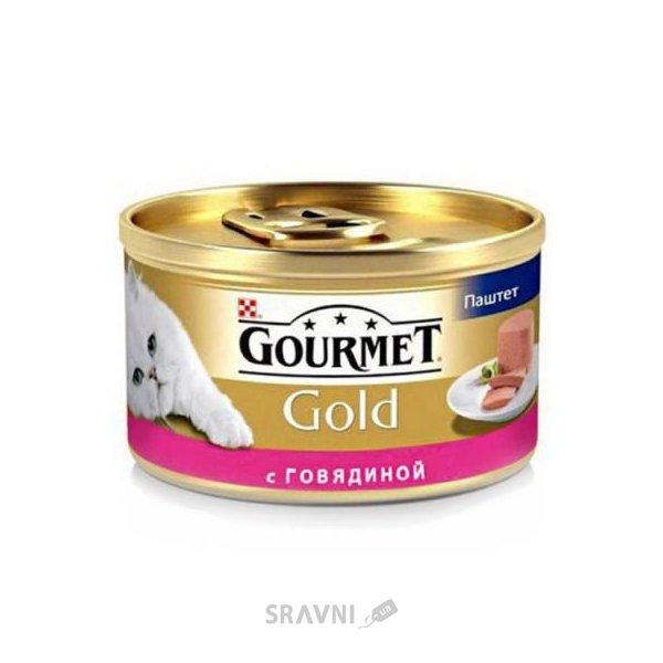 Фото Gourmet Gold с говядиной 0,085 кг