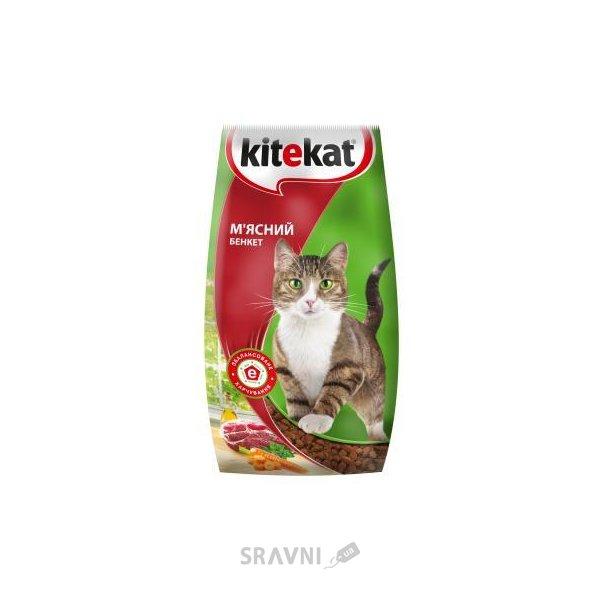 Фото Kitekat Сухой корм Мясной пир 2,4 кг