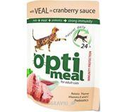 Фото OptiMeal С телятиной в клюквенном соусе 85 гр