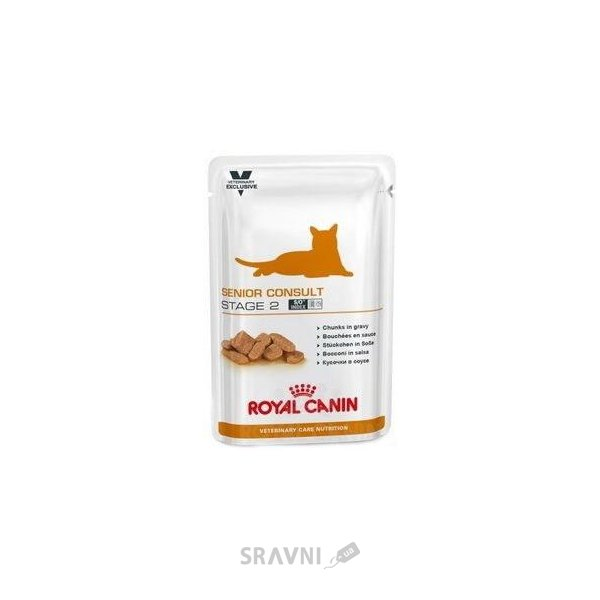 Фото Royal Canin Senior Consult Stage 2 WET 0,1 кг
