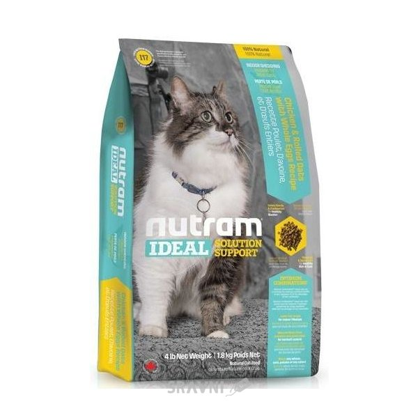 Фото Nutram I19 Ideal Solution Support Sensitive 1,8 кг