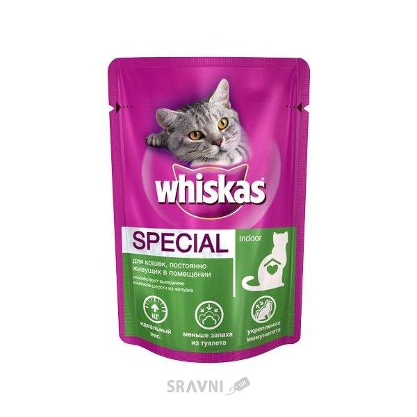 Фото Whiskas Special Indoor 0,1 кг