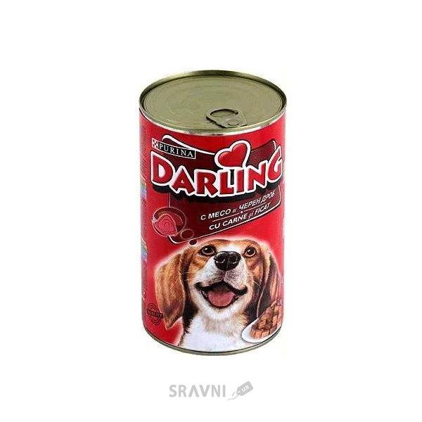 Фото Darling С мясом и печенью 1,2 кг