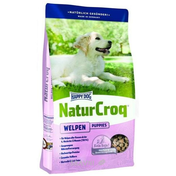 Фото Happy Dog NaturCroq Welpen 15 кг