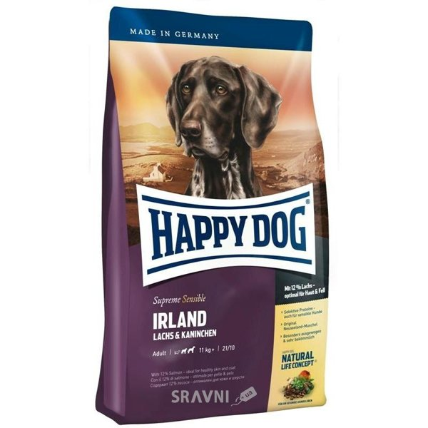 Фото Happy Dog Supreme Irland 4 кг