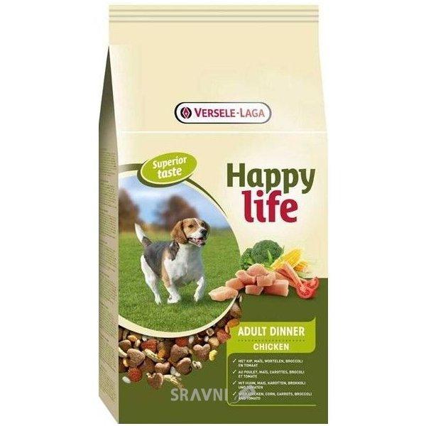Фото Happy Life Adult Dinner 15 кг