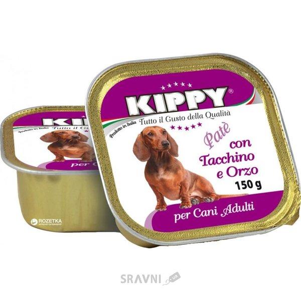 Фото KIPPY Консервы для собак с индейкой и ячменем 150 г