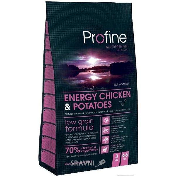Фото Profine Adult Energy Chicken & Potatoes 3 кг