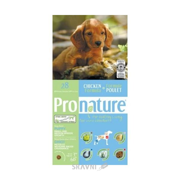 Фото Pronature 28 Original Puppy Medium Small 0,35 кг