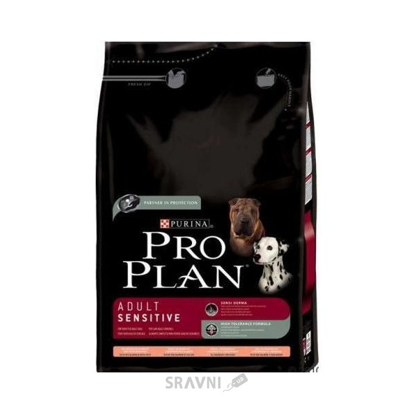 Фото Pro Plan Adult Sensitive Salmon & Rice 14 кг