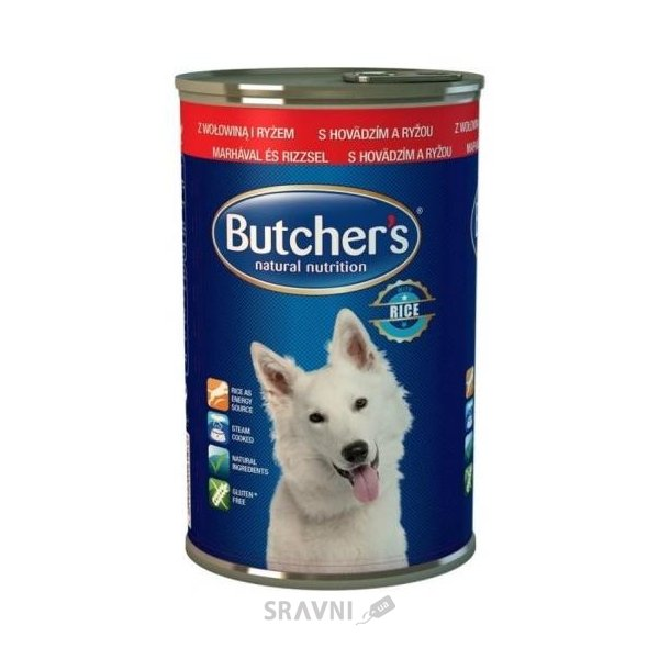 Фото Butcher's Natural Nutrition Beef and Rice 390 г