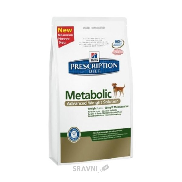 Фото Hill's Prescription Diet Metabolic Canine 1,5 кг