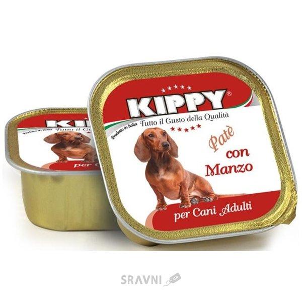 Фото KIPPY Консервы для собак с говядиной 300 г