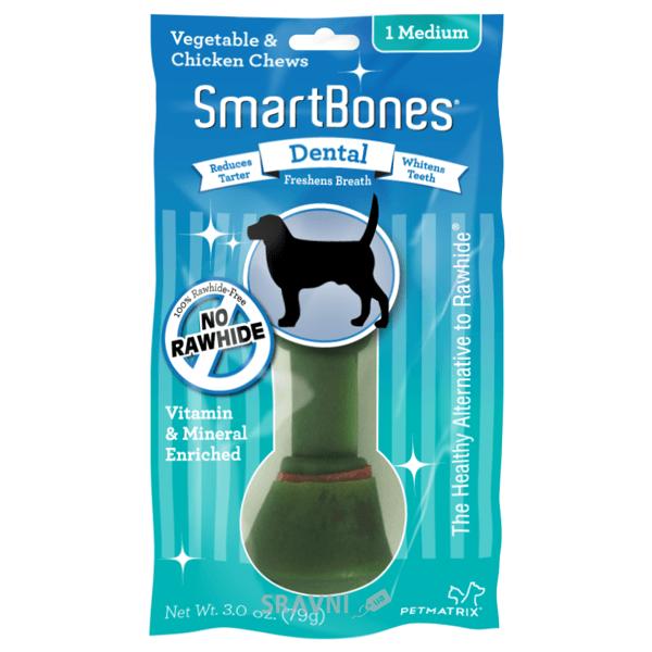Фото SmartBones Dental Жевательные косточки Medium 1 шт.
