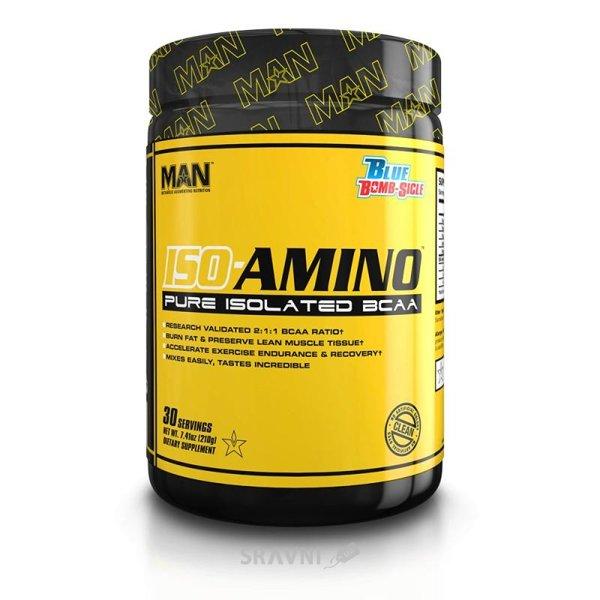 Фото MAN Sports ISO-Amino 210g (30 servings)