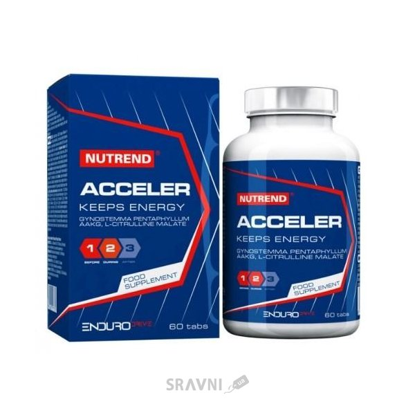 Фото Nutrend Acceller 60 tabs