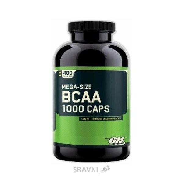 Фото Optimum Nutrition BCAA 1000 Caps 400 caps