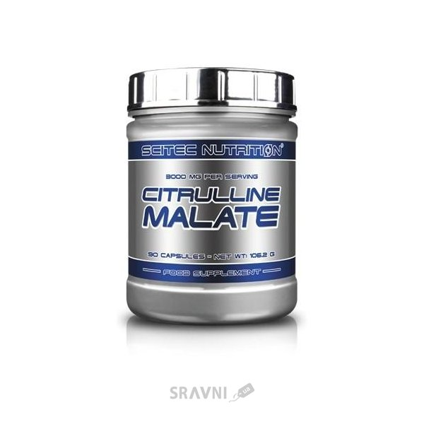 Фото Scitec Nutrition Citrulline Malate 90 caps (30 servings)