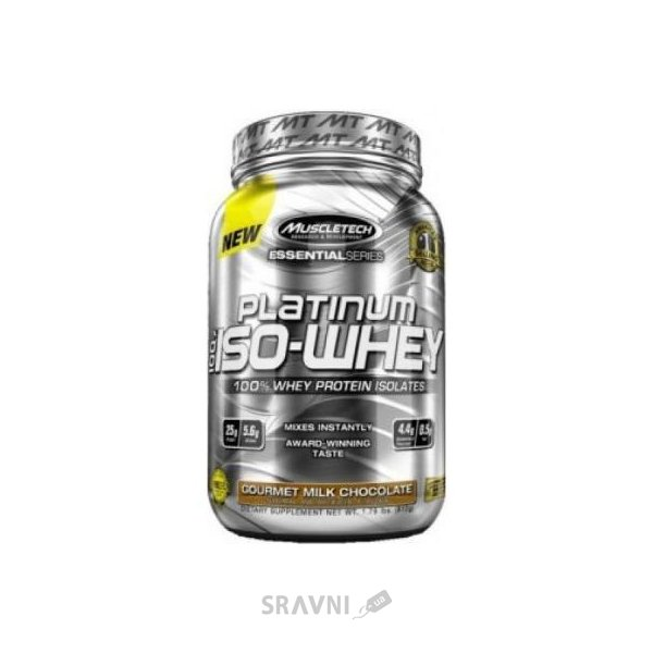 Фото MuscleTech Platinum 100% Iso-Whey 812 g (26 servings)