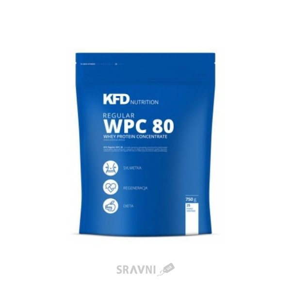 Фото KFD Nutrition Regular WPC 80 750 g